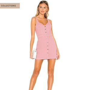 GRLFRND Tura Pink Jean Dress XS